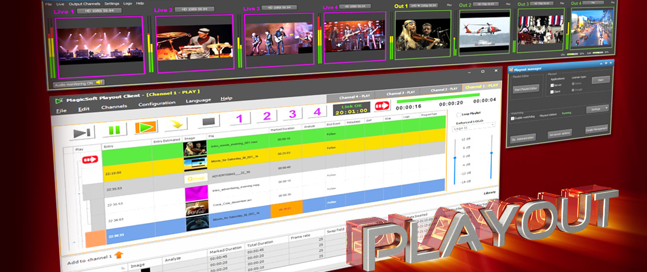 Playout Software